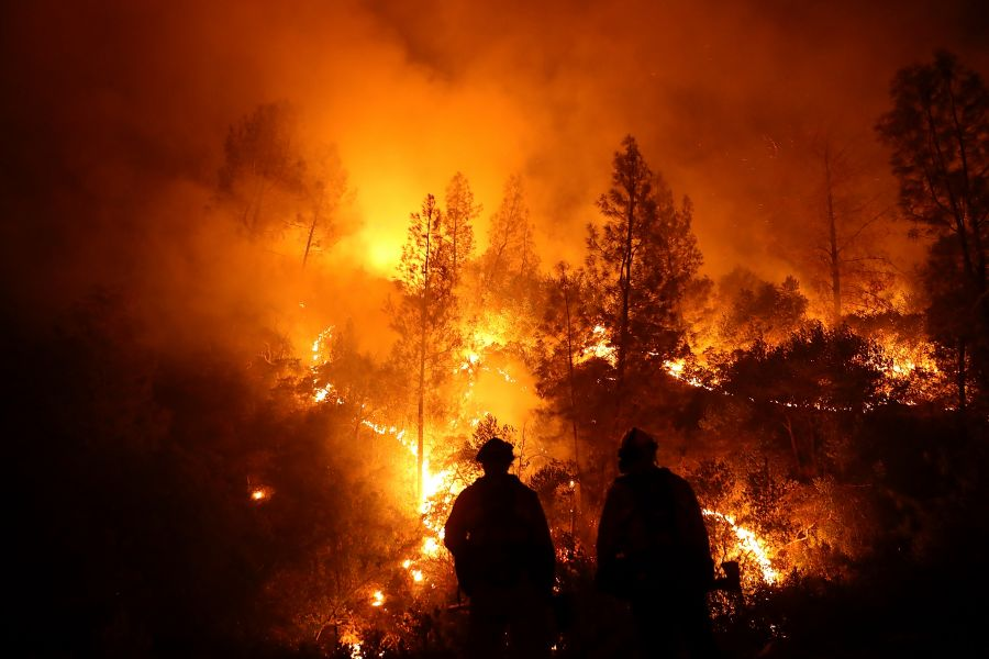 <who>Photo Credit: Getty Images/Justin Sullivan</who>The Mendocino Complex wildfire in Northern California