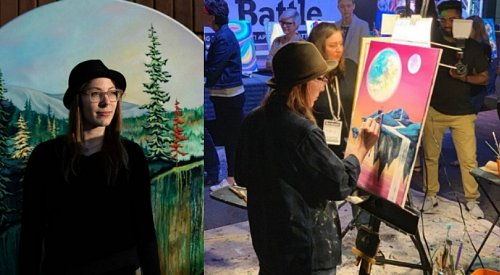 Kelowna artist on her way to national painting competition