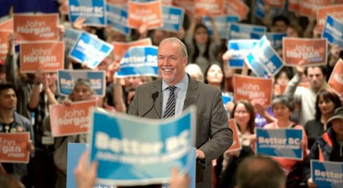 The BC NDP 2019 budget update has arrived