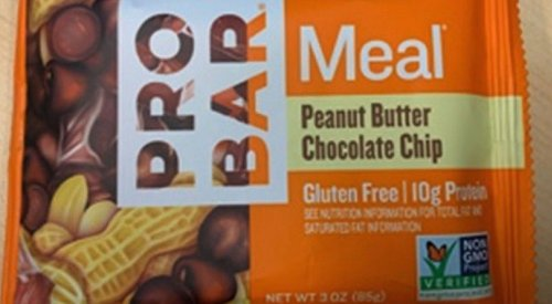 Meal replacement bar recalled over undeclared ingredients that could cause allergic reaction