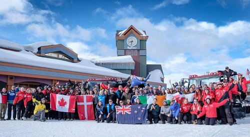 Big White had employees from 27 different countries this winter