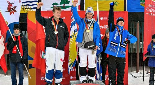 Okanagan athlete wins 2nd gold medal of Canada Winter Games