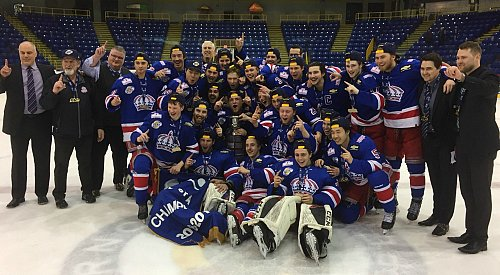 The Prince George Spruce Kings are BCHL champions